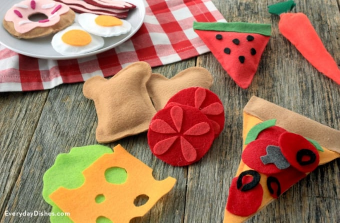 food-related felt project