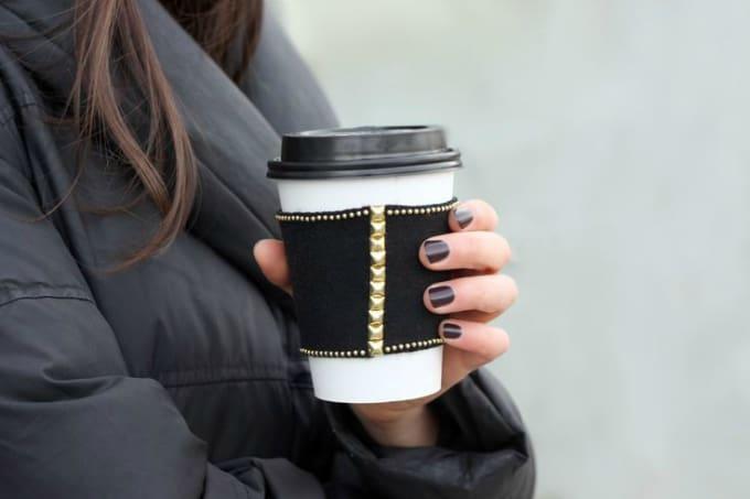 slate coffee sleeve