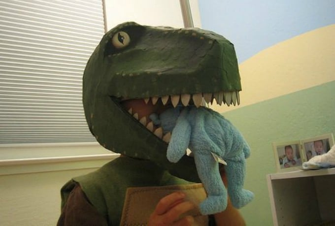 t rex mask