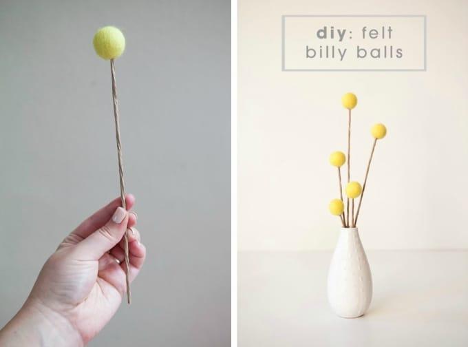 felt billy balls