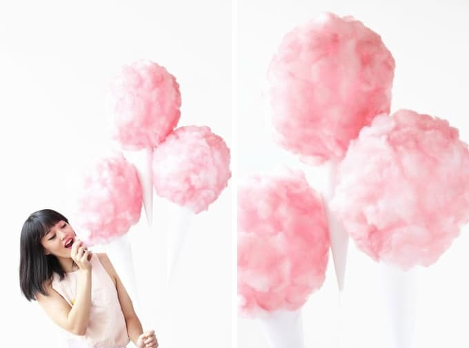 cotton candy balloons