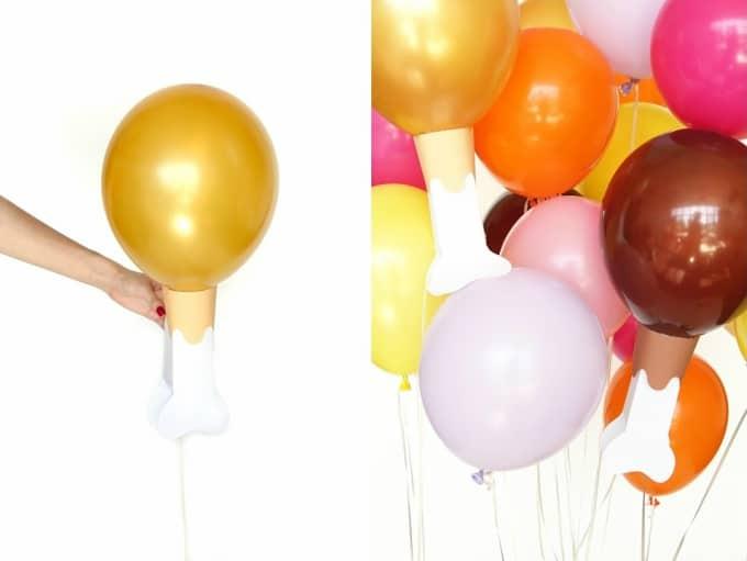 drumstick balloons