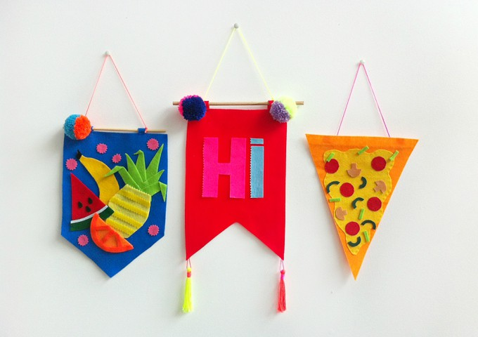 felt wall hangings
