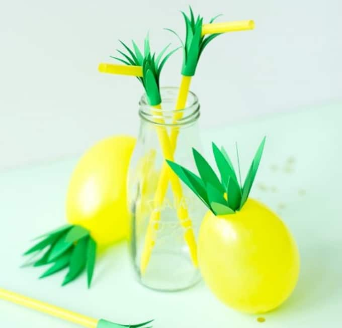 pineapple balloons