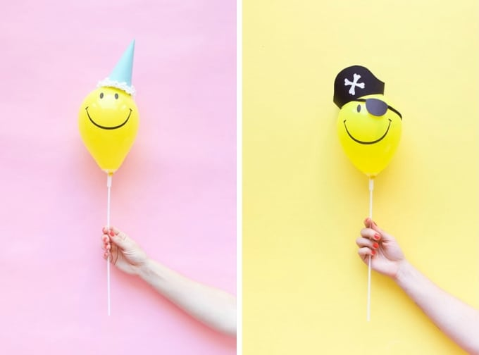 mini balloon hats