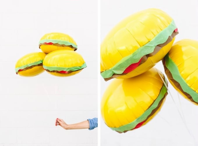 balloon burger tutorial