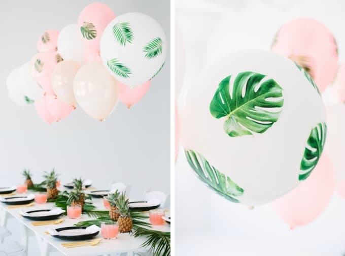 dinner party balloons