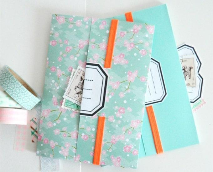 30 customizable diy notebook covers  u2022 cool crafts