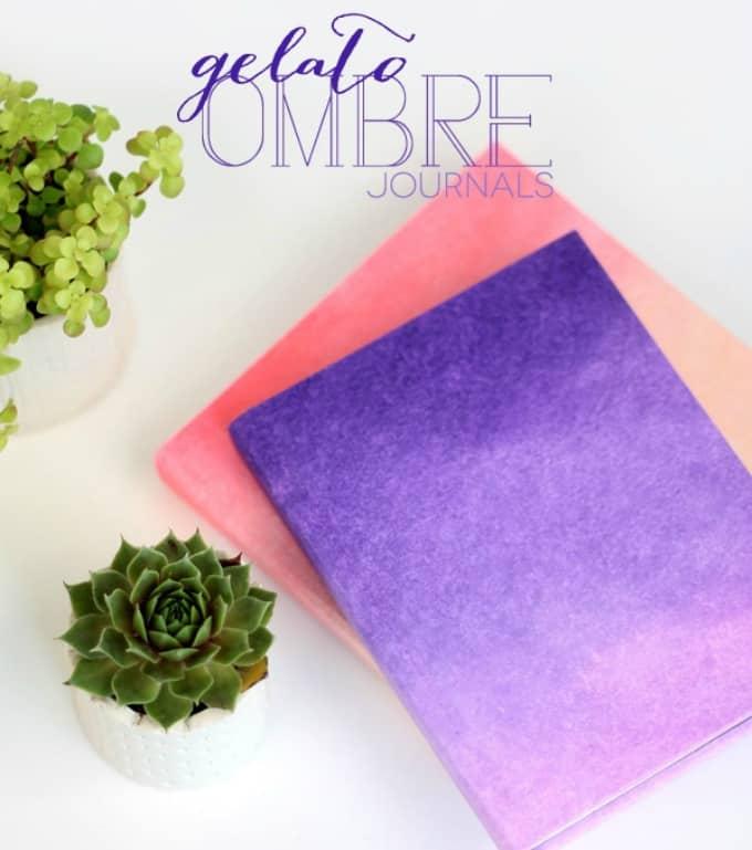 gelato ombre journals
