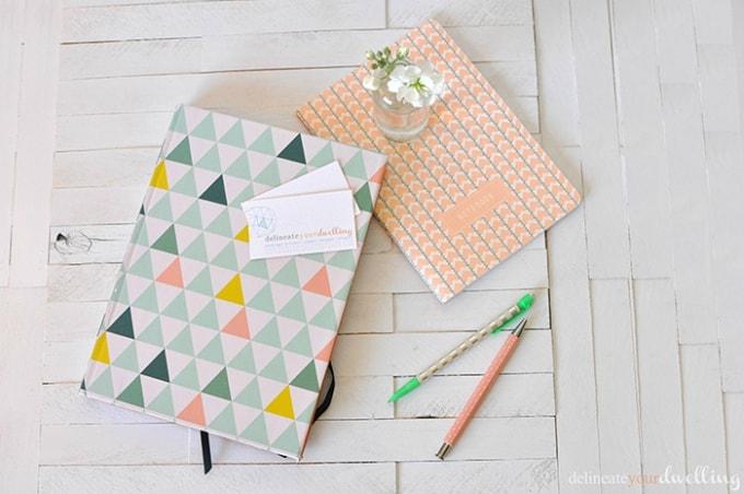 customizable notebook
