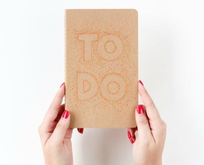 pointillism notebook