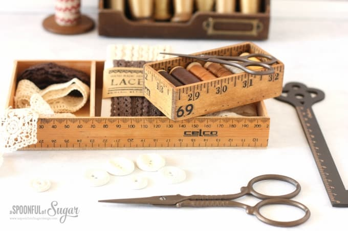 ruler box sewing kit