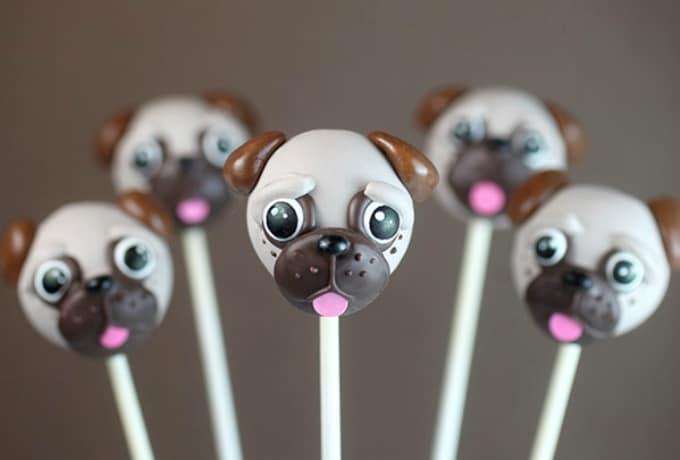 pug cake pops