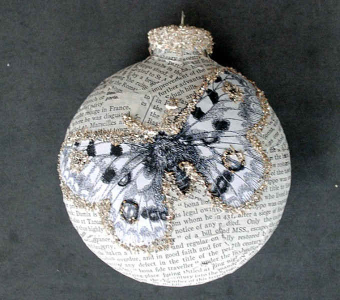 book page craft ornaments