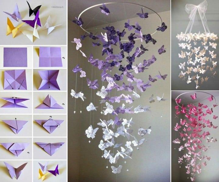 butterfly chandlier
