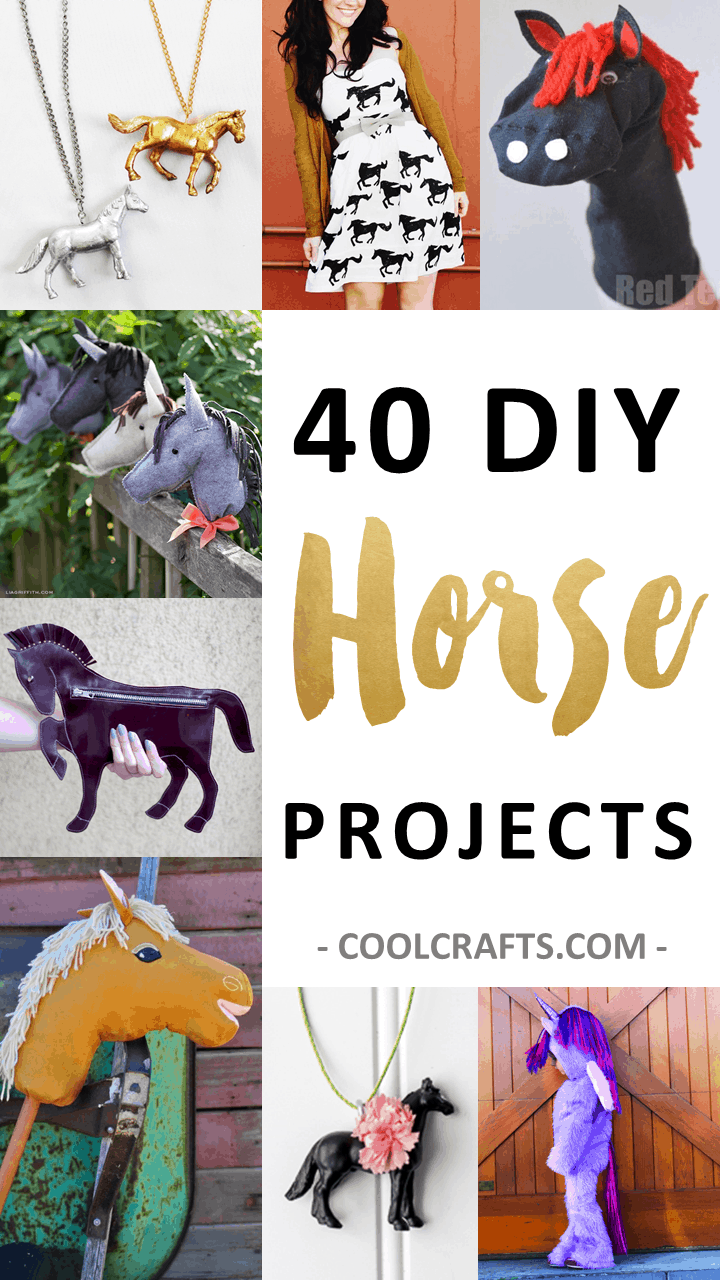 40 DIY Horse Craft Ideas to Inspire your Creativity • Cool Crafts