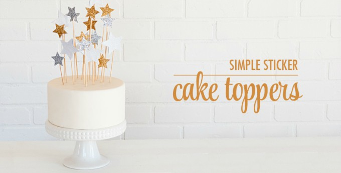 Cake Toppers 60 Festive Ways To Top Your O Cool Crafts