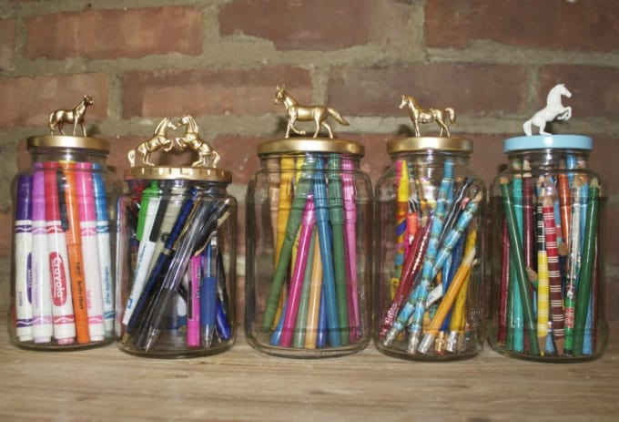diy decorative jars