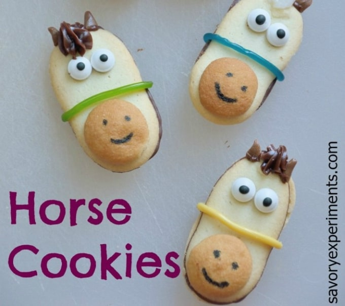 no bake horse cookies