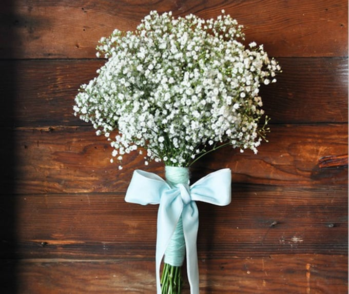 baby breath arrangement