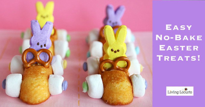 Easy No-bake easter treats