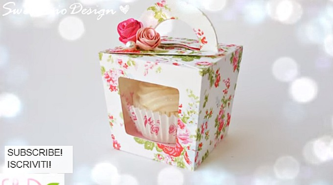 beautiful cupcake box