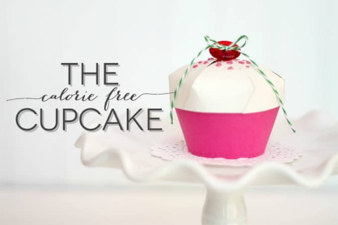 how to make cupcake boxes template