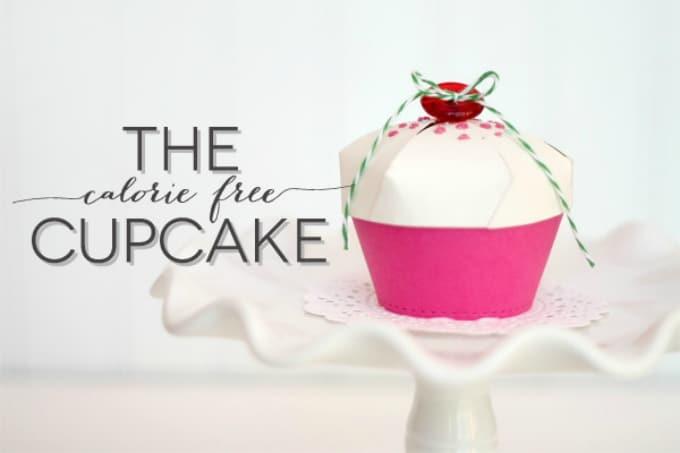 calorie-free cupcake