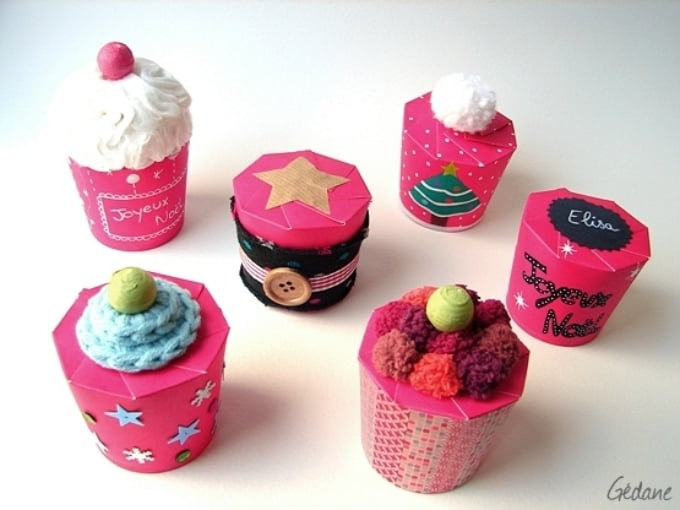 paper cup cupcake holders