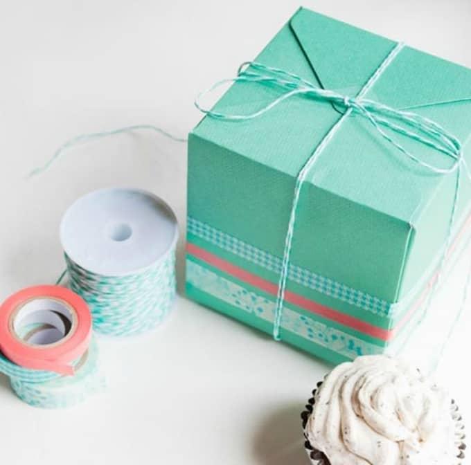 pretty cupcake box
