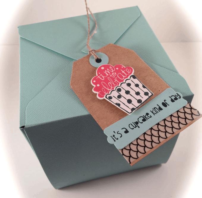 printable cupcake box