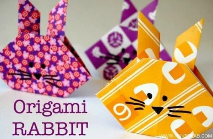 origami rabbit