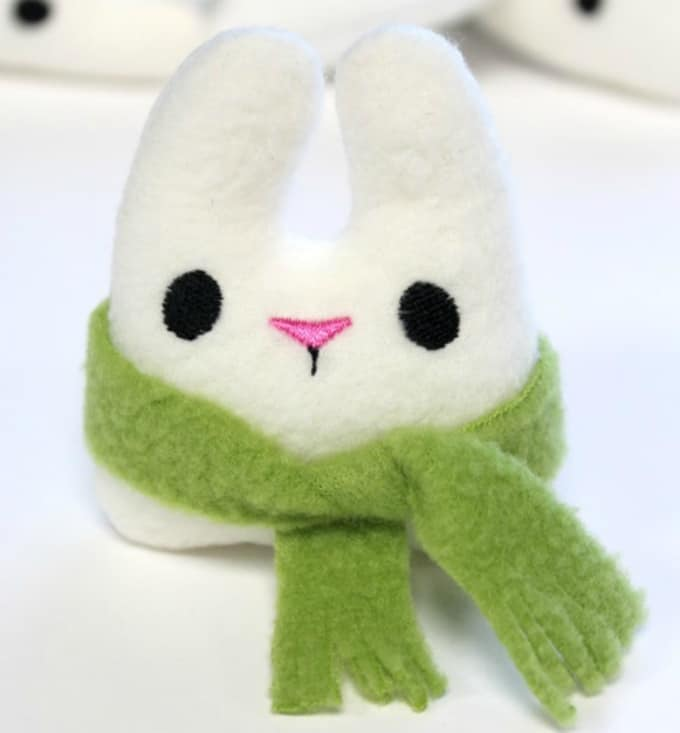 tiny rabbit plush