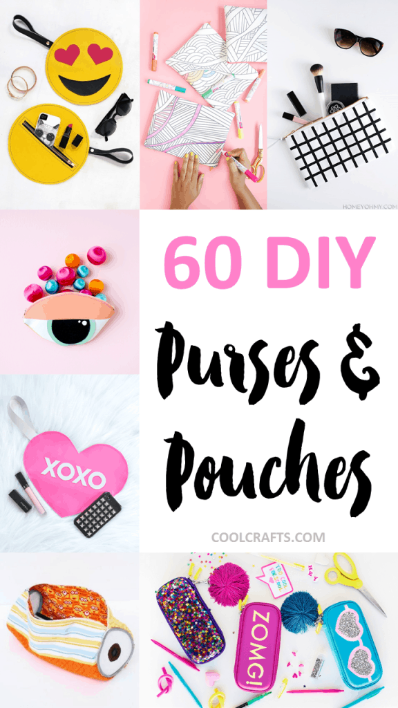60 Stylish DIY Purse, Handbag, and Pouch Ideas