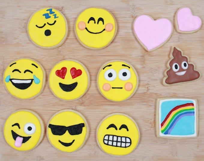 nerd nummies emoji cookies