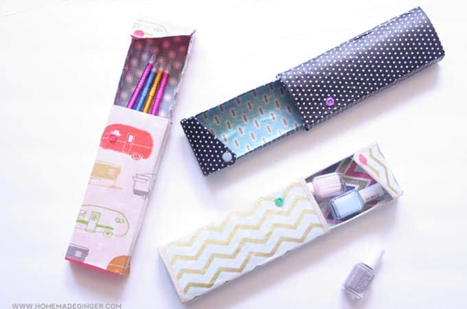 fabric cover pencil case