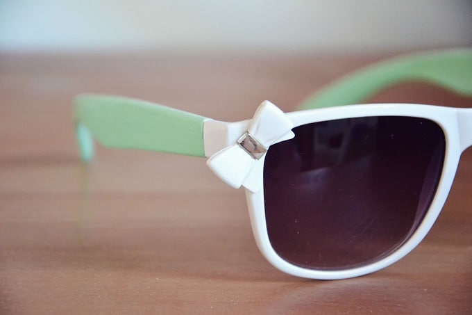 pastel makeover sunglasses
