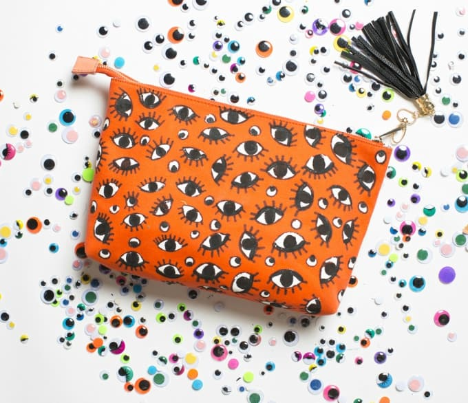 diy eyeball clutch