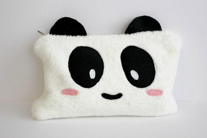 panda pencil case