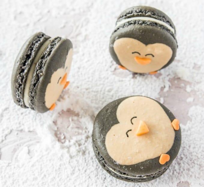 penguin macaron recipe