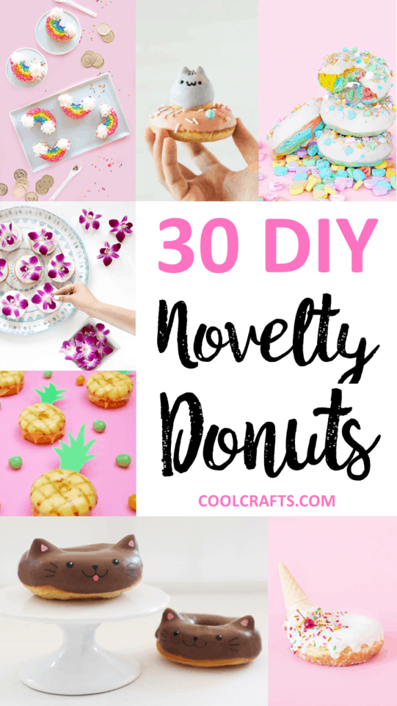 30 Novelty Donut Ideas You'll Want to Devour