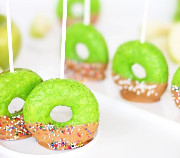 toffee apple donut