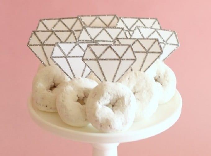 donut diamond rings
