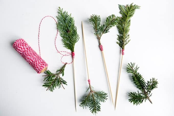 festive drink stirrers