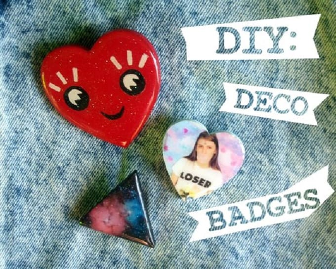 DIY deco badges