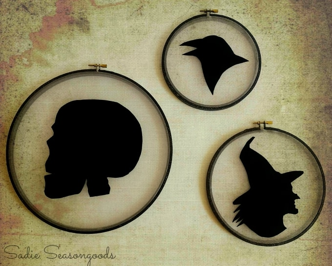 spooky silhouettes a halloween profile