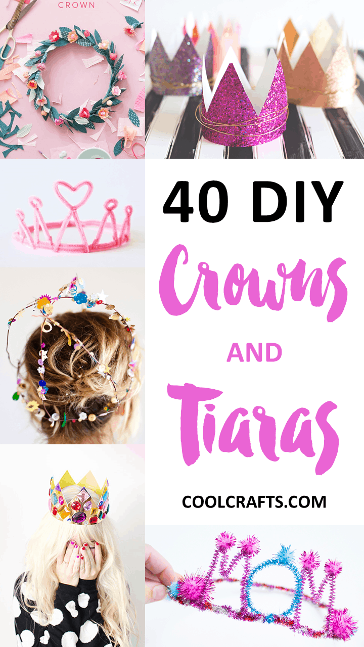 40 DIY Crowns and Tiara You Can Wear to Your Next Party | SavoryStyle.com
