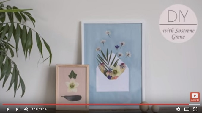 Søstrene Grene's DIY Videos via YouTube