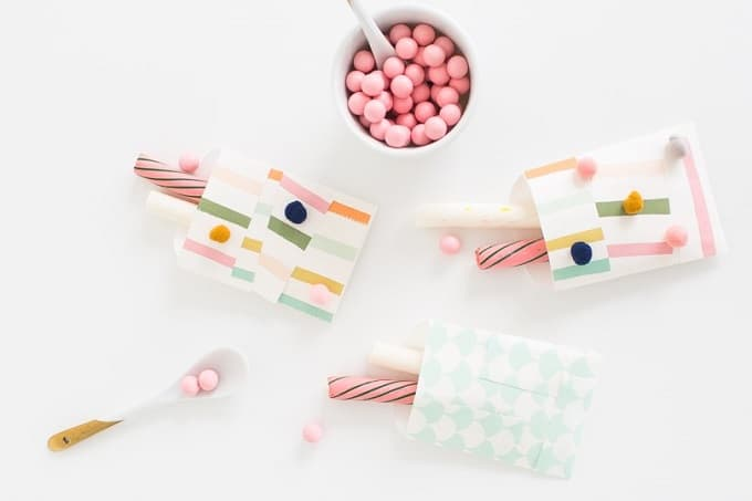 Patchwork Favor Bags - Check out 34 other eye-catching goodie bag ideas that you can make for your next party. | Coolcrafts.com