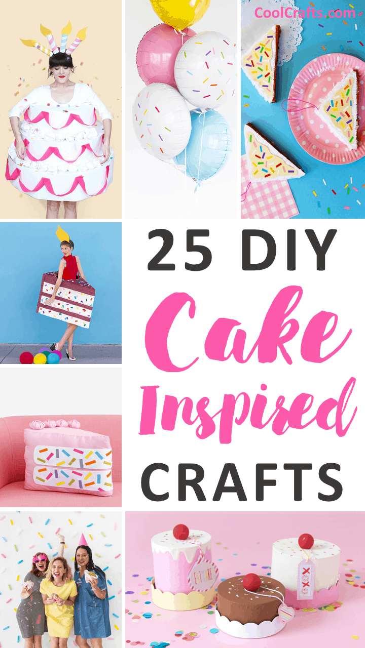 25 DIY Cake Craft Ideas to Get The Party Started - CoolCrafts.com